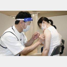 ワクチンの効き目が大幅に弱まる恐れが(C)共同通信社