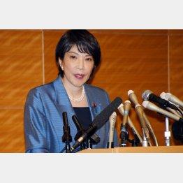 細田派総会で、高市早苗元総務相の支持を明言したのは3人だけ…(C)日刊ゲンダイ
