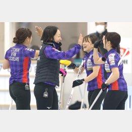 次戦は12月の北京五輪最終予選(代表撮影)
