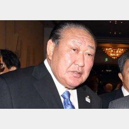 日本大学の田中英寿理事長(C)日刊ゲンダイ