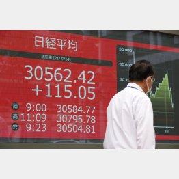 株価は上昇ムード(C)日刊ゲンダイ