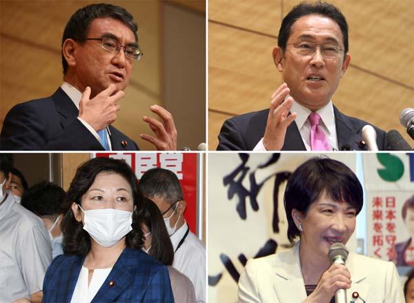 出てきたメンバーは全員、安倍・菅政治を継承の馬鹿馬鹿らしさ(C)日刊ゲンダイ