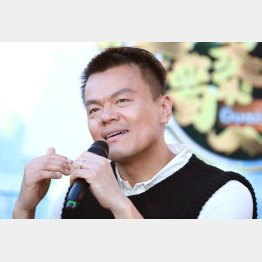 総合プロデューサーのJ.Y.Park氏はどうする?(C)ゲッティ/共同通信イメージズ