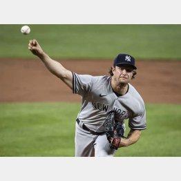 ヤンキースのゲリット・コール投手(C)ロイター/USA TODAY Sports