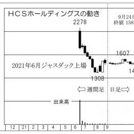「HCSホールディングス」大企業はDX化促進でシステム投資を増加