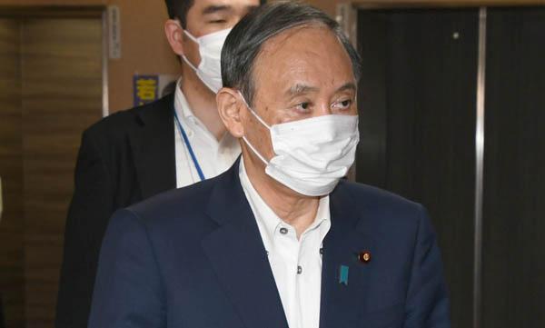 何も考えてはいない、「結果オーライ」の場当たり(菅首相)/(C)日刊ゲンダイ