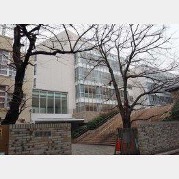 首都圏トップは私立中高一貫女子高の桜陰学園(提供写真)