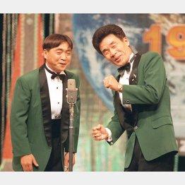 おぼん・こぼん(1999年撮影)/(C)共同通信社
