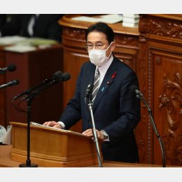 岸田首相(C)日刊ゲンダイ