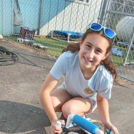 歩行困難な動物のために!米16歳女子高生の手作り補助具の活動が話題に