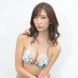 """""""神ボディー""""松嶋えいみの新作DVDは「下着の透け具合を見て欲しい」"""